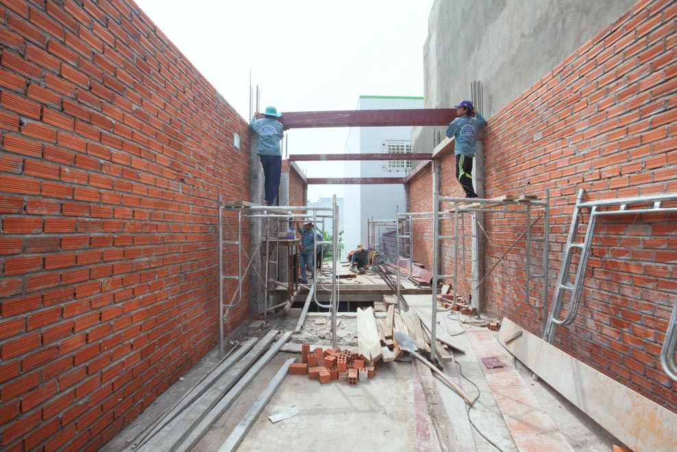 Xây dựng mới nhà anh Tính, Quận 9