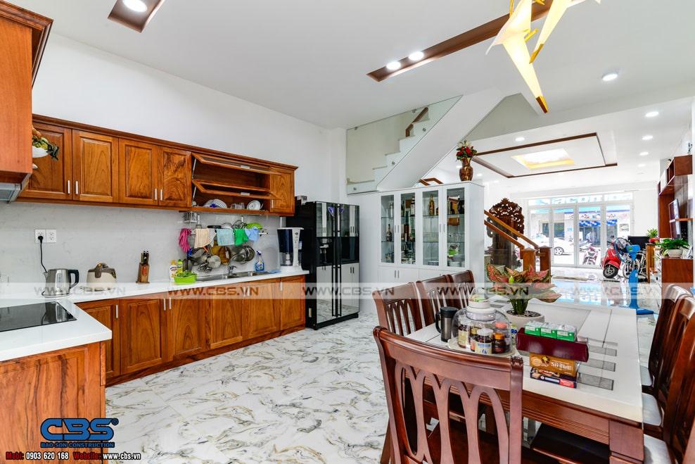 Xây dựng mới nhà anh Tuyến, Quận Tân Phú