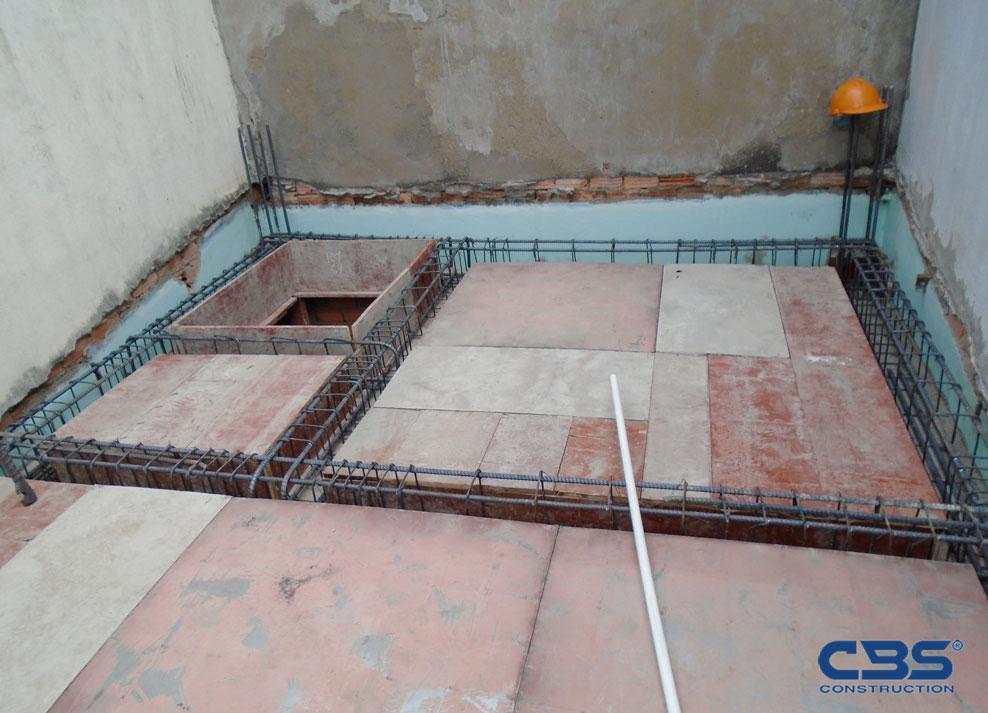 Xây dựng mới nhà chị Châu, Quận 11