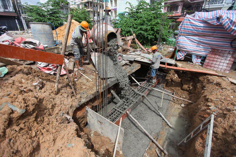 Xây dựng mới nhà chị Đào, Quận Gò Vấp