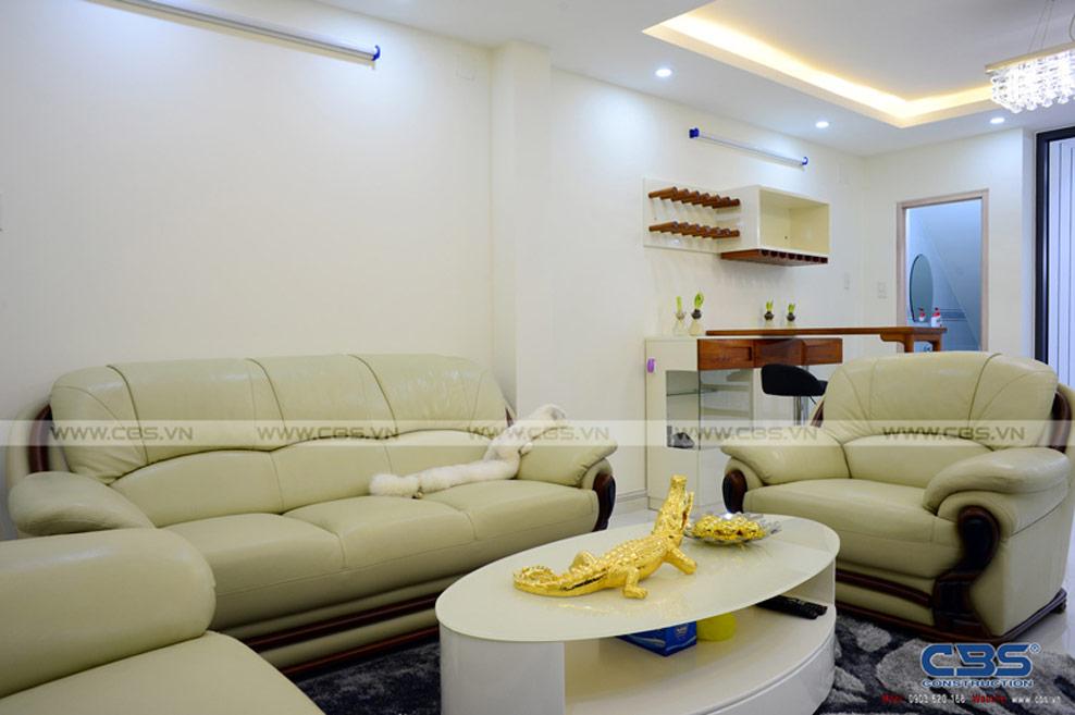Xây dựng mới nhà chị Dung, Tân Phú