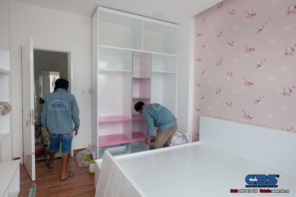 Xây dựng mới nhà chị Hương Biên Hòa