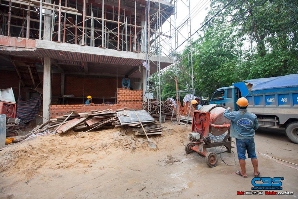 Xây dựng mới nhà chị Kiều Oanh, Bình Dương