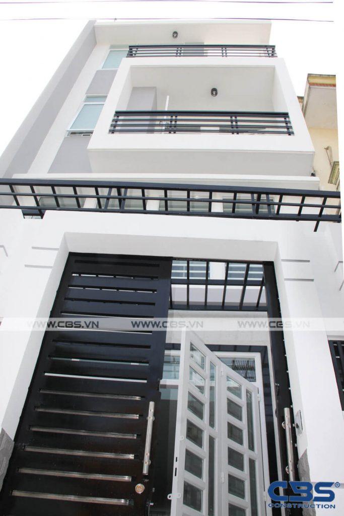Xây dựng mới nhà chị Lâm Thị Mỹ Nhung, Bình Thạnh