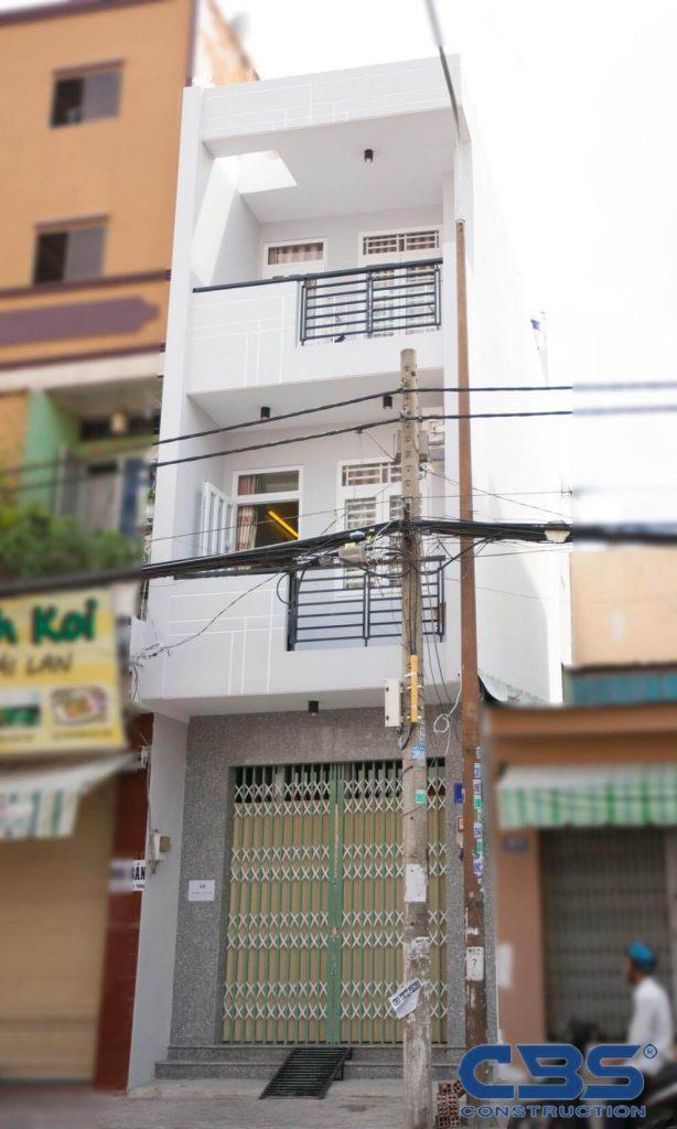 Xây dựng mới nhà quận Tân Bình