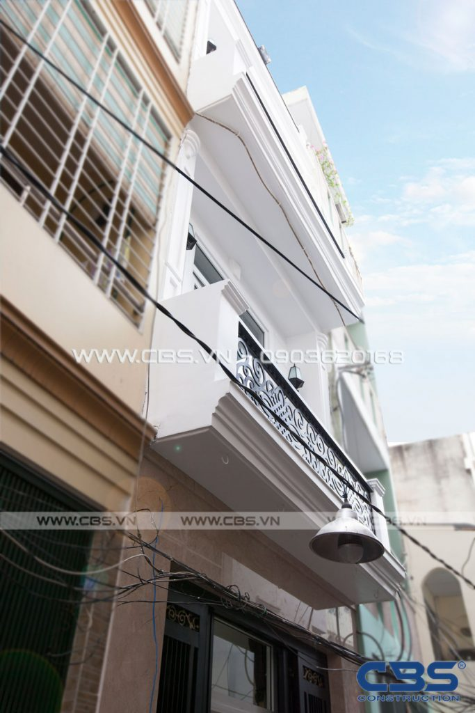Xây dựng mới nhà chị Thư Cư Xá Đô Thành Quận 3