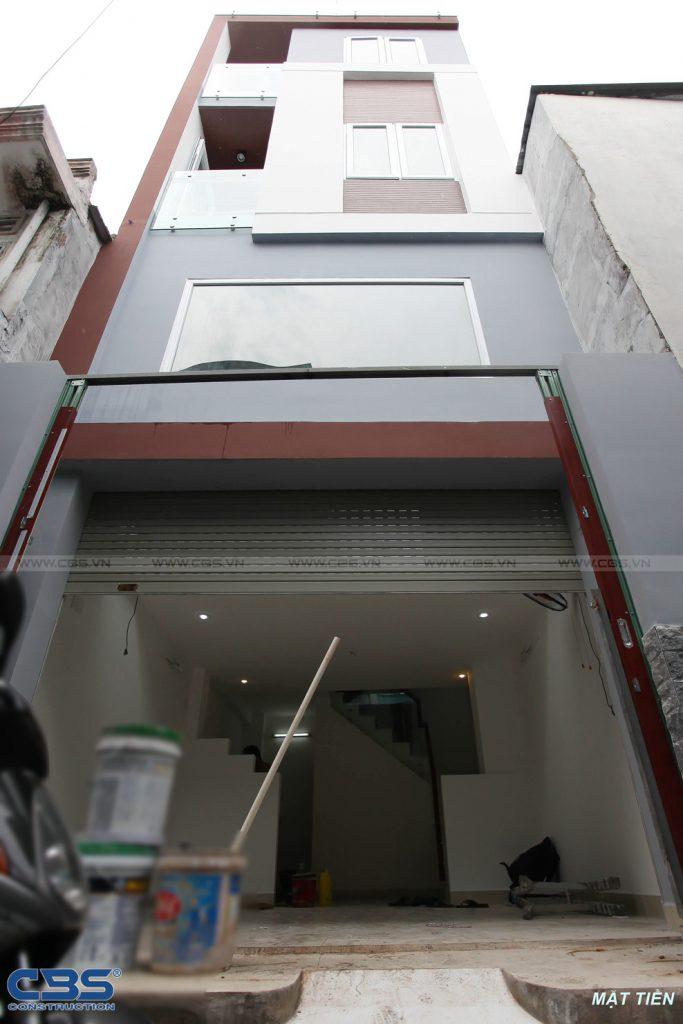 Xây dựng mới nhà chị Vy tại Xô Viết Nghệ Tĩnh quận Bình Thạnh