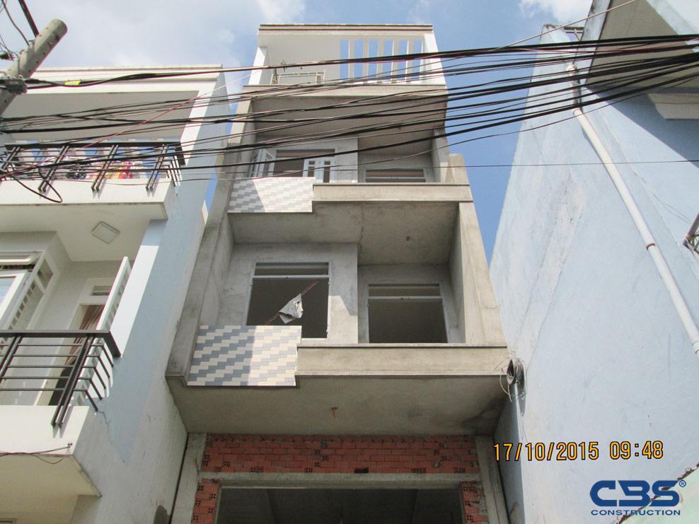 Xây dựng mới nhà Tân Phú