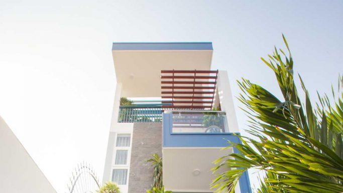 Xây dựng mới nhà chú Minh đường Nguyễn Hữu Tiến quận Tân Phú