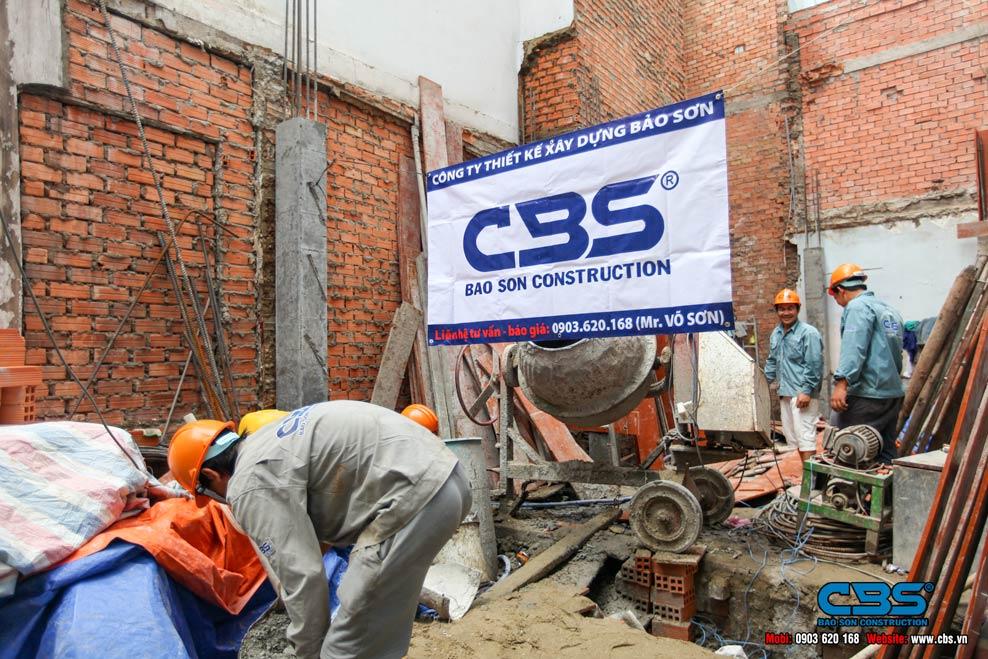 Xây dựng mới nhà chú Tài tại Quận 3 Thành Phố Hồ Chí Minh