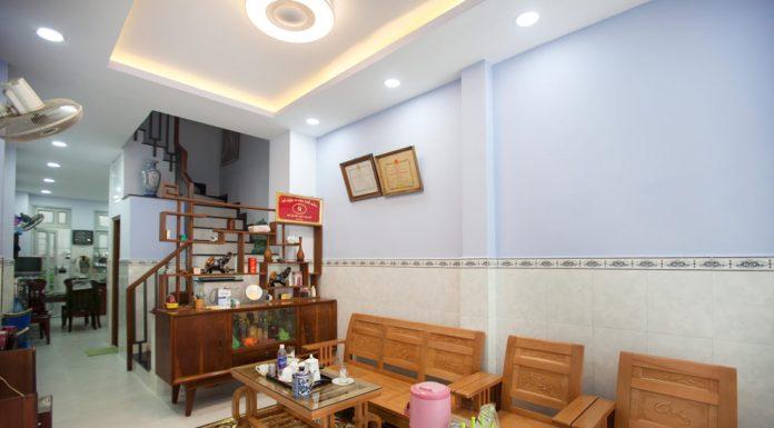 xây dựng mới nhà cô Dung tại quận Gò Vấp