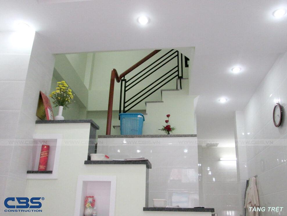 Xây dựng mới nhà cô Hà đường Đinh Tiên Hoàng