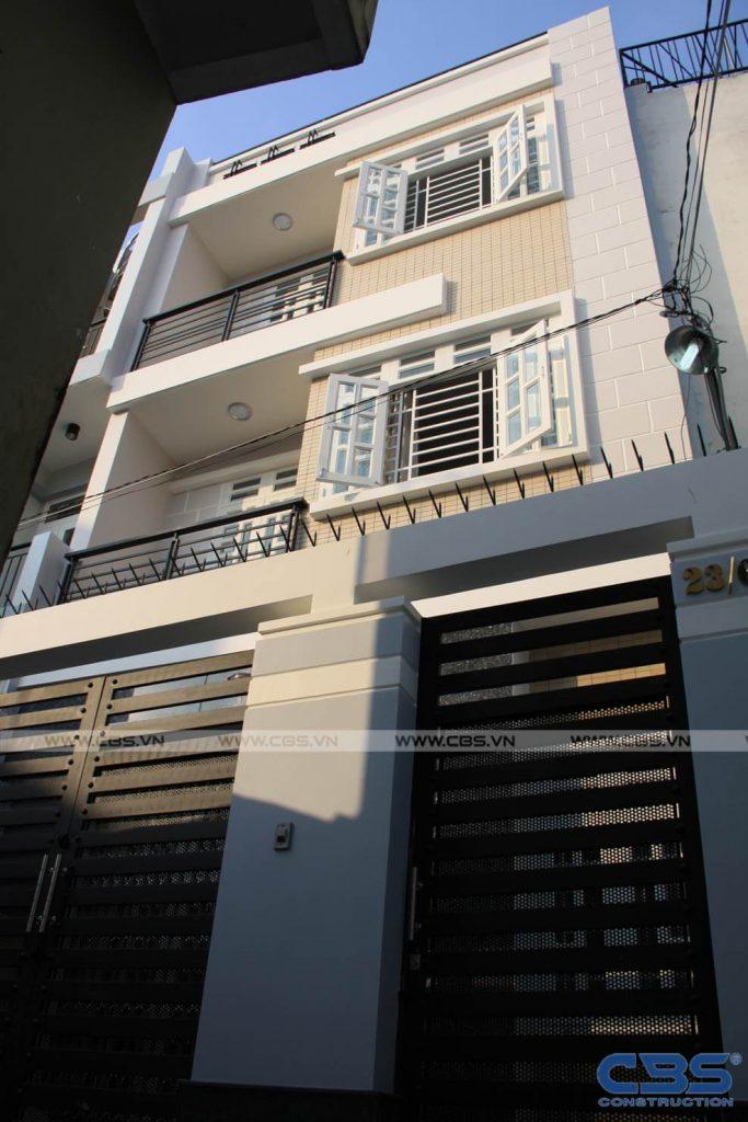 Xây dựng mới nhà cô Hồng Nhung Bình Thạnh