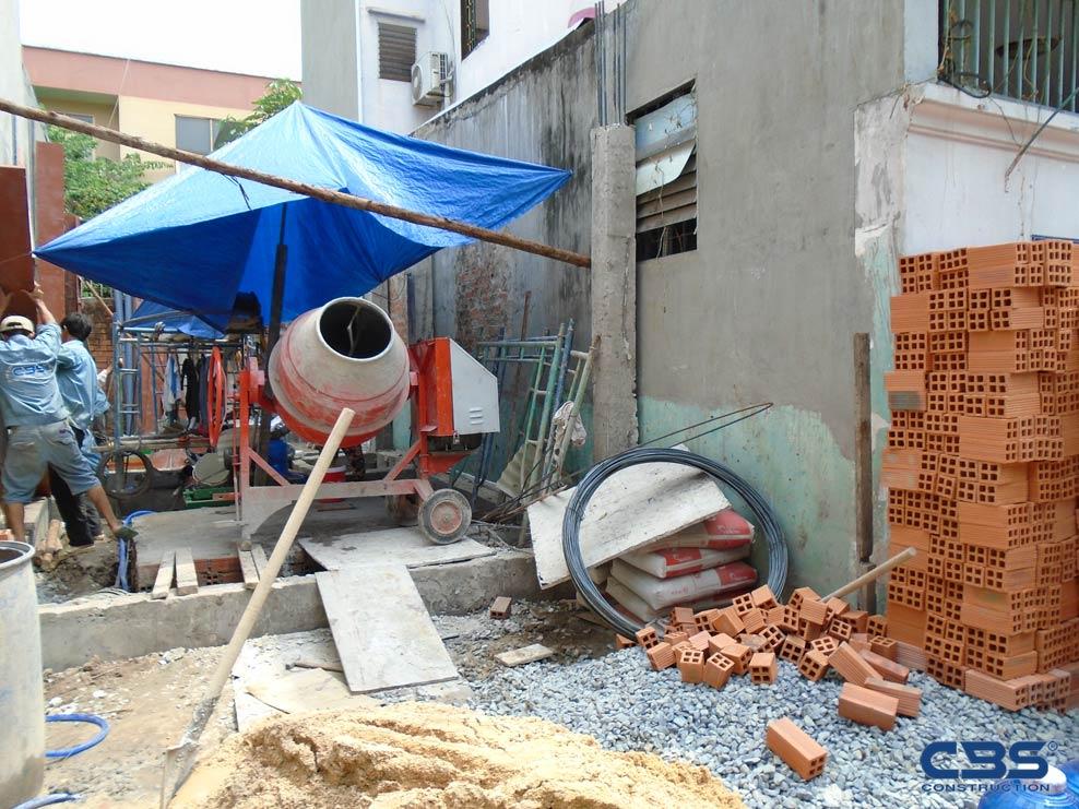 xây dựng nhà mới cô phương