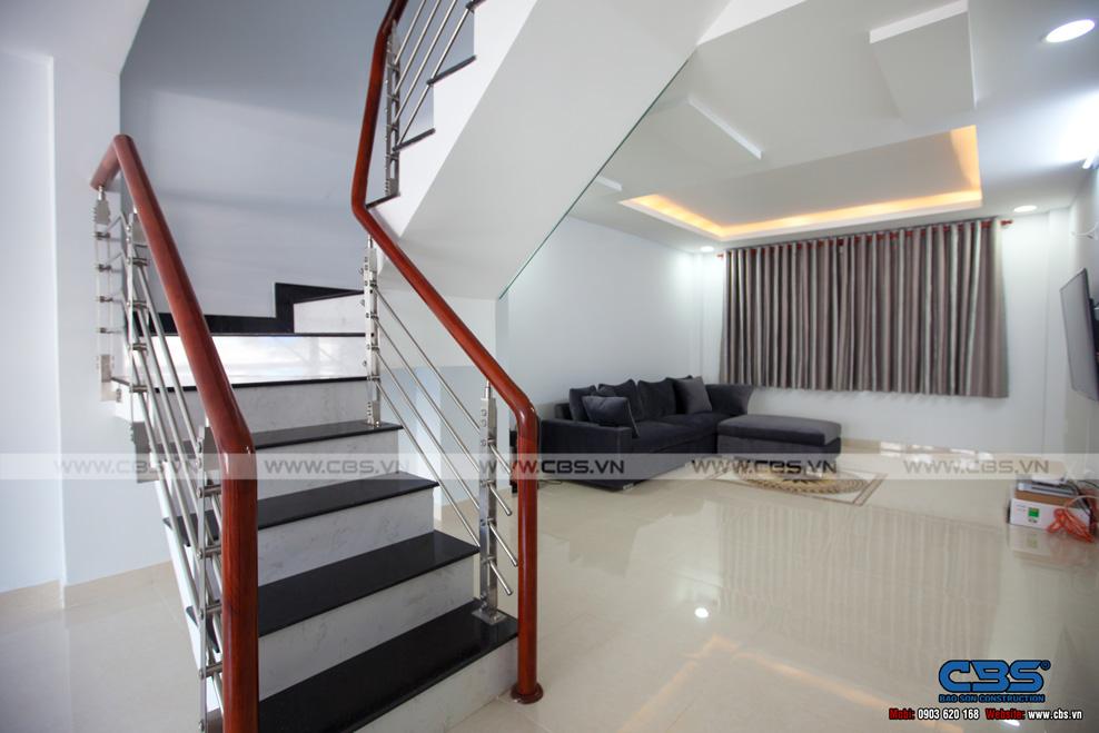 thiết kế nhà có tầng hầm 5x20