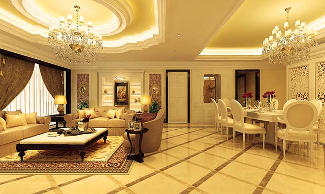 thiết kế kiến trúc phong cách cổ điển