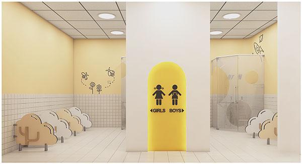 tiêu chuẩn khu vệ sinh trường mầm non