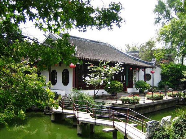 nhà vườn theo phong cách trung quốc