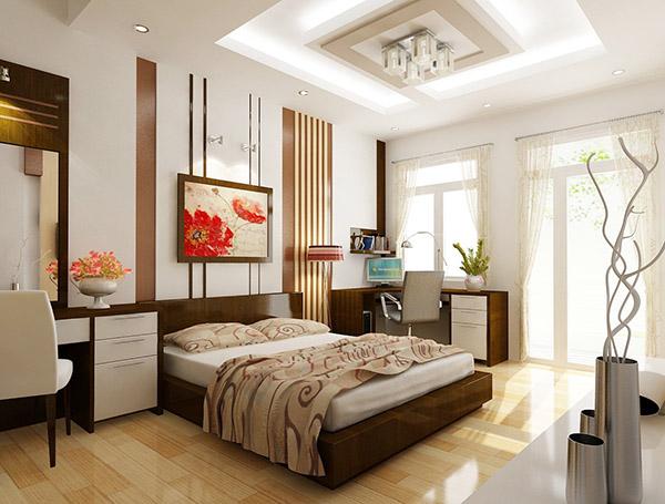Thiết kế phòng ngủ cho vợ chồng