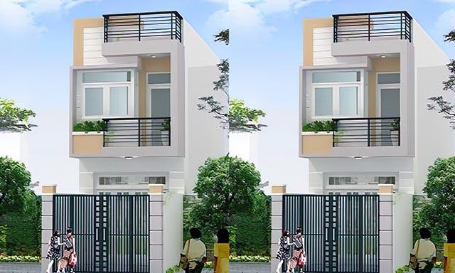xây dựng nhà 2 tầng giá rẻ