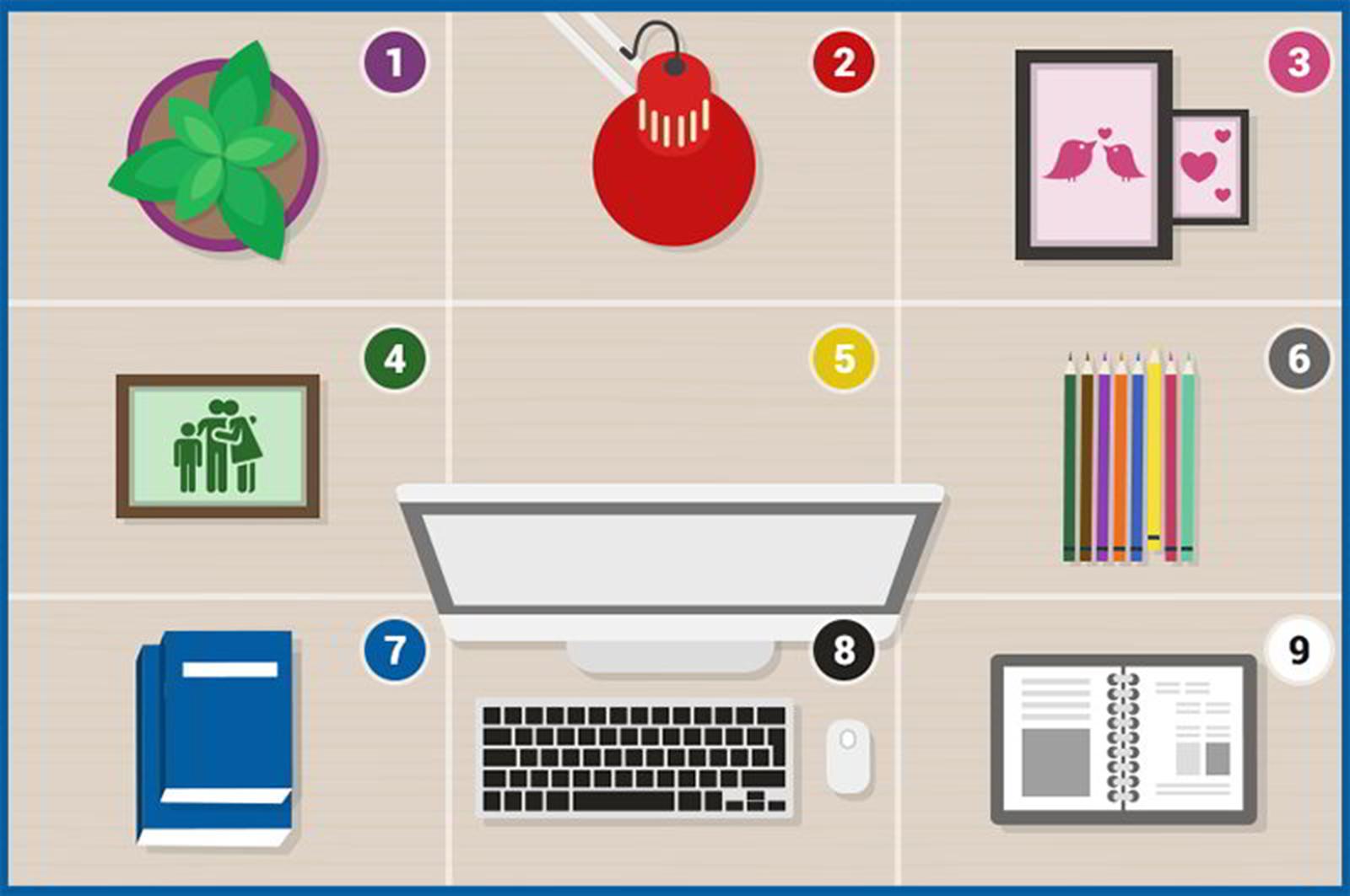 Cách bố trí phòng làm việc tại nhà giúp bạn làm việc hiệu quả 5