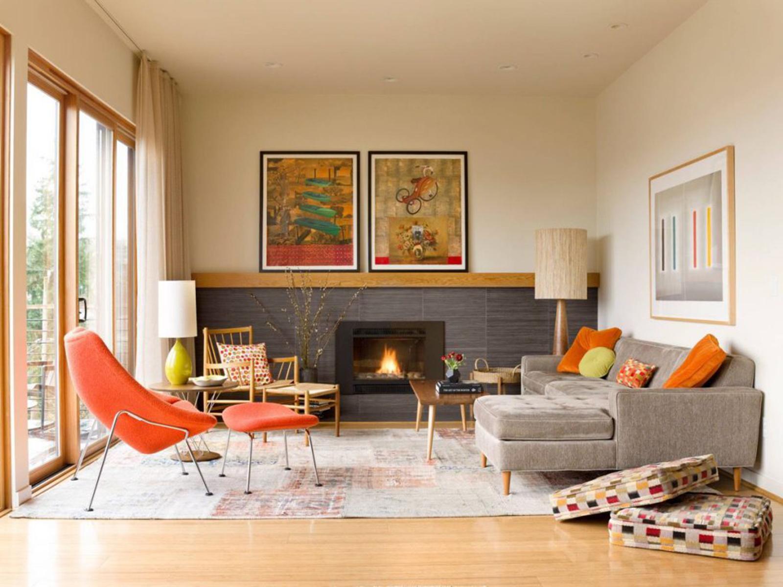 cách biến không gian phòng khách nhỏ hẹp thành không gian rộng rãi