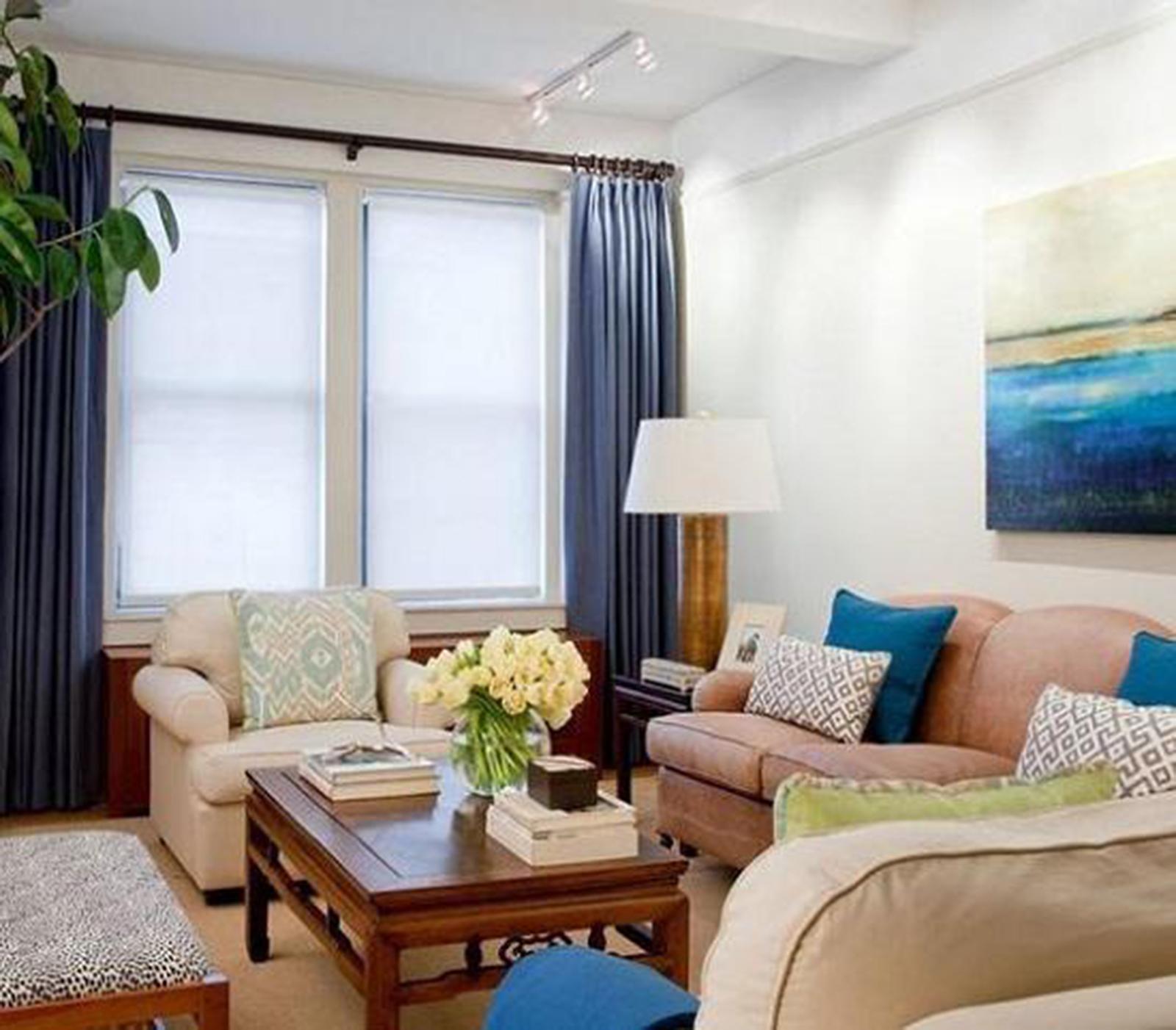 Hô biến phòng khách nhà phố nhỏ hẹp thành không gian rộng rãi lý tưởng 3